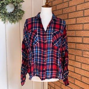 BGD Plaid Button Down Shirt